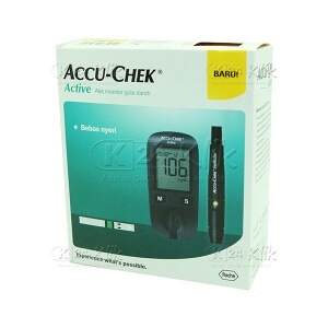 JUAL ACCU CHECK ACT METER