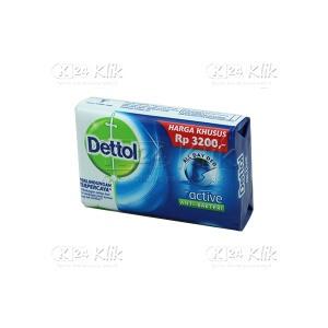 JUAL DETTOL SOAP BIRU 75G ACTIVE