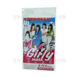 Apotek Online - SKINER MASKER GIRLY 5S