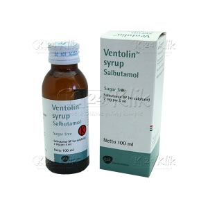 JUAL VENTOLIN SYR 100ML 2MG/5ML