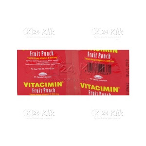 JUAL VITACIMIN FRUIT PUNCH STRIP 2S
