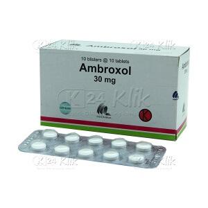 Apotek Online - AMBROXOL 30MG TAB IF
