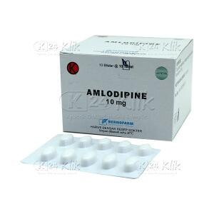 Apotek Online - AMLODIPINE BERNO 10MG TAB 100S