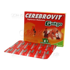 JUAL CEREBROVIT GB TAB STR 10S