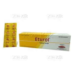 Apotek Online - ETUROL CAPSUL 100S