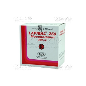 JUAL LAPIBAL 250MG CAP