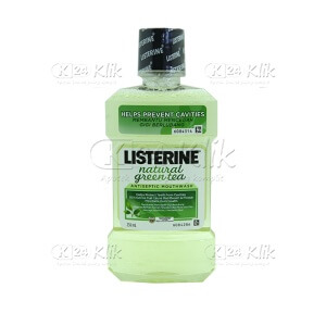 JUAL LISTERINE NATURAL GREEN TEA 250ML