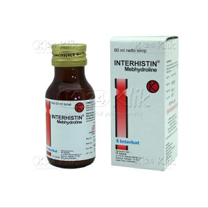 JUAL INTERHISTIN SYRUP 60ML