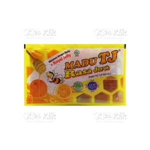 JUAL MADU TJ RASA JERUK+ROYAL JELLY 12S
