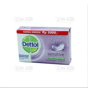 JUAL DETTOL SOAP SENSITIVE 75G