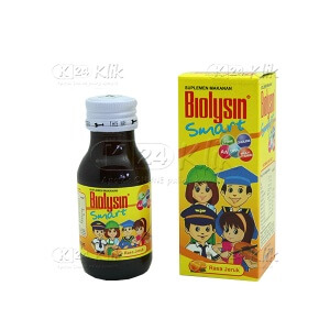 JUAL BIOLYSIN SMART SYR 60 ML