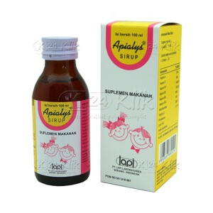 JUAL APIALYS SYRUP 100ML