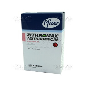 JUAL ZITHROMAX 200MG/5ML SUSPENSI 15ML