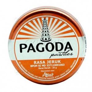 Apotek Online - PAGODA PERMEN JERUK 20 G