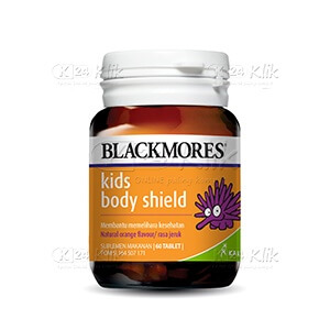 JUAL BLACKMORES KIDS BODY SHIELD CHEW TAB 60S BTL