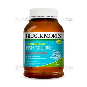 Apotek Online - BLACKMORES ODOURLESS FISH OIL 1000 TAB 400S BTL