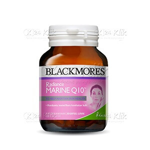 JUAL BLACKMORES RADIANCE MARINE Q10 SOFT CAPS 30S BTL