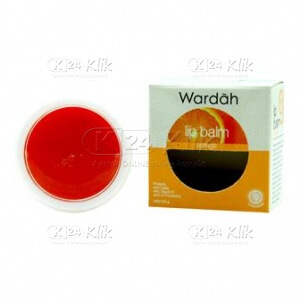 JUAL WARDAH LIP BALM STRAWBERRY 6,5G
