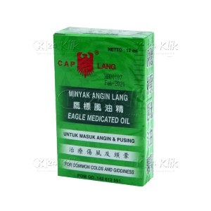 Apotek Online - MINYAK ANGIN LANG 12ML