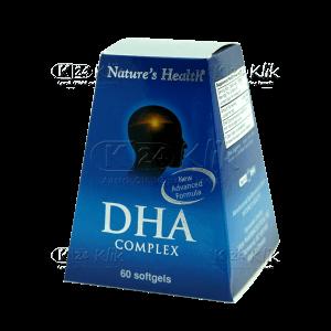 JUAL NATURE HEALTH DHA COMPLEX CAP 60S