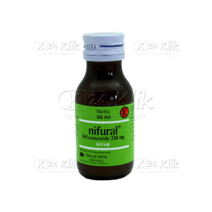 JUAL NIFURAL SYR 60ML 250MG/5ML