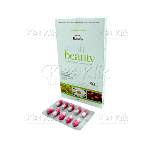 JUAL NUTRAFOR WHITE BEAUTY TAB 60S