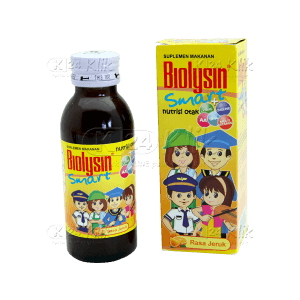 JUAL BIOLYSIN SMART SYR 100 ML