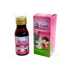 Apotek Online - DECOUGH SY ANAK RASA STRAWBERRY 60ML