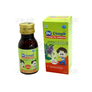 Apotek Online - DECOUGH SYR ANAK RASA JERUK 60ML