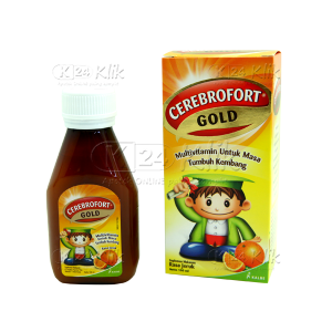JUAL CEREBROFORT GOLD ORANGE 100ML