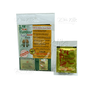 JUAL BAMBOO FOOT PATCH GOLD