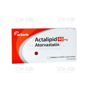 JUAL ACTALIPID 40MG TAB 30S