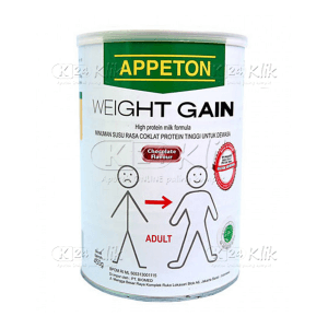 JUAL APPETON WEIGHT GAIN DWS 450GR COKLAT