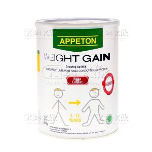 Apotek Online - APPETON WEIGHT GAINT ANAK 900G COKLAT