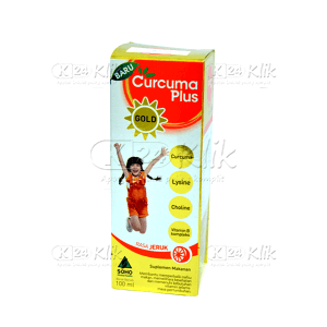 JUAL CURCUMA PLUS GOLD JERUK 100ML
