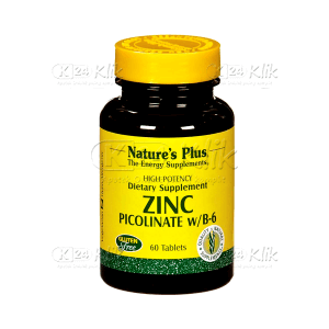 JUAL NATURE PLUS ZINC PICOLINATE TAB 60'S