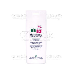 JUAL SEBAMED MOISTURIZING BODY LOT 200ML
