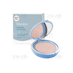 Apotek Online - WARDAH LIGHTENING TWO WAY CAKE LIGHT FEEL 03 SHEER PINK 12G