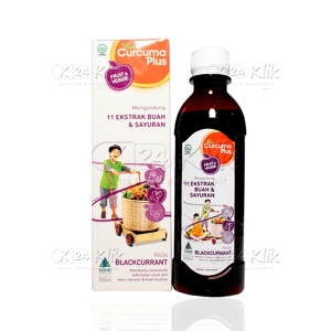 Apotek Online - CURCUMA PLUS FRUIT VEGGIE BLACKCURRANT SYR 200ML