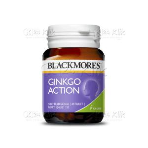 JUAL BLACKMORES GINKGO ACTION TAB 40S BTL