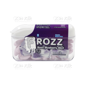 JUAL FROZZ BLUE BERRY MINT SUGAR FREE