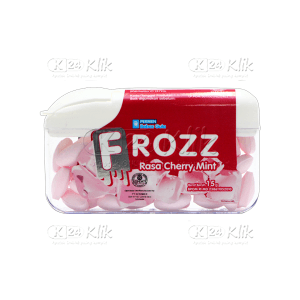 JUAL FROZZ CHERRY MINT (PINK)
