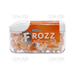 JUAL FROZZ ORANGE MINT (ORANGE)
