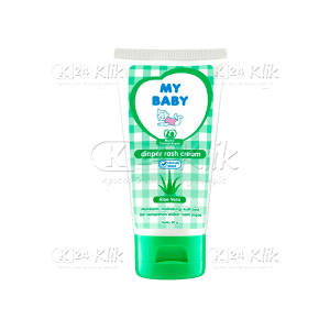 JUAL MY BABY DIAPER RASH CREAM ALOE VERA 50GR