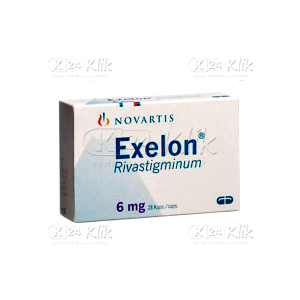 JUAL EXELON 6MG CAP 28S