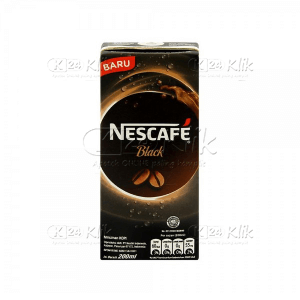 JUAL NESCAFE BLACK UHT 200 ML