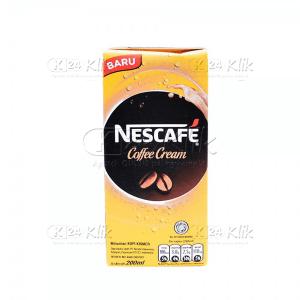JUAL NESCAFE UHT COFFEE CREAM 200ML