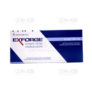 Apotek Online - EXFORGE 5MG/160MG TAB
