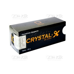 JUAL CRYSTAL X FOR WOMEN 35G