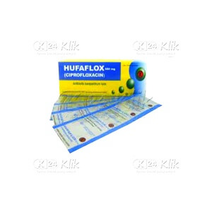 JUAL HUFAFLOX 500MG TAB 100S